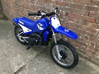 Yamaha pw 80 kids motocross bike, semi auto, great working order,grab a bargain!!