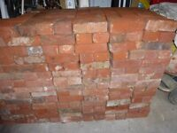 Reclaimed Handmade Red Bricks;