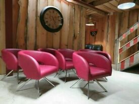 8 Boss Design Reception Chairs