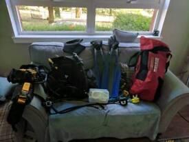 Scuba diving job lot
