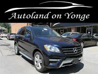 2012 Mercedes-Benz M-Class ML 350 BlueTEC NAVI,ATTENTION/LANE KE
