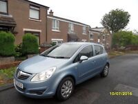 2007 Vauxhall Corsa Club AC 1.2 - Full MOT - Not Clio Polo Yaris 107 Ibiza Fiesta