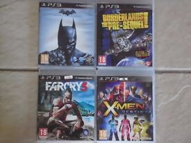 PS3 Games for Sale - £5 each