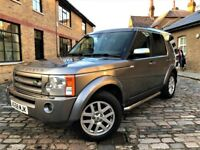 Land Rover Discovery 3 2.7 TD V6 XS 5dr/ p/x welcome *6 MONTHS WARRANTY*FULL S/H* 2009 (58 reg), SUV