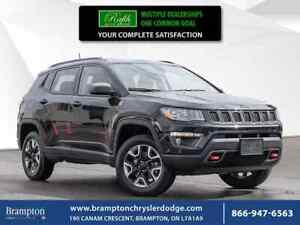 2018 Jeep Compass TRAILHAWK|PROXIMITY KEY|NAV|PANORAMIC ROOF|LEA