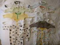 Gender neutral newborn bundles