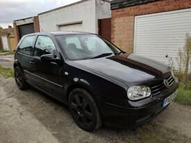 VW Golf GT TDI 130 with heated leather seats