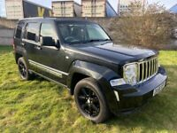 2008 Jeep Cherokee 2.8 CRD Limited 5dr Auto- 12 MONTHS MOT