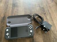 Nintendo Switch Lite Grey Handhled System - Hardly Used