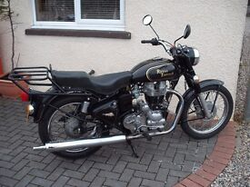 2 x royal enfield motorcycles,