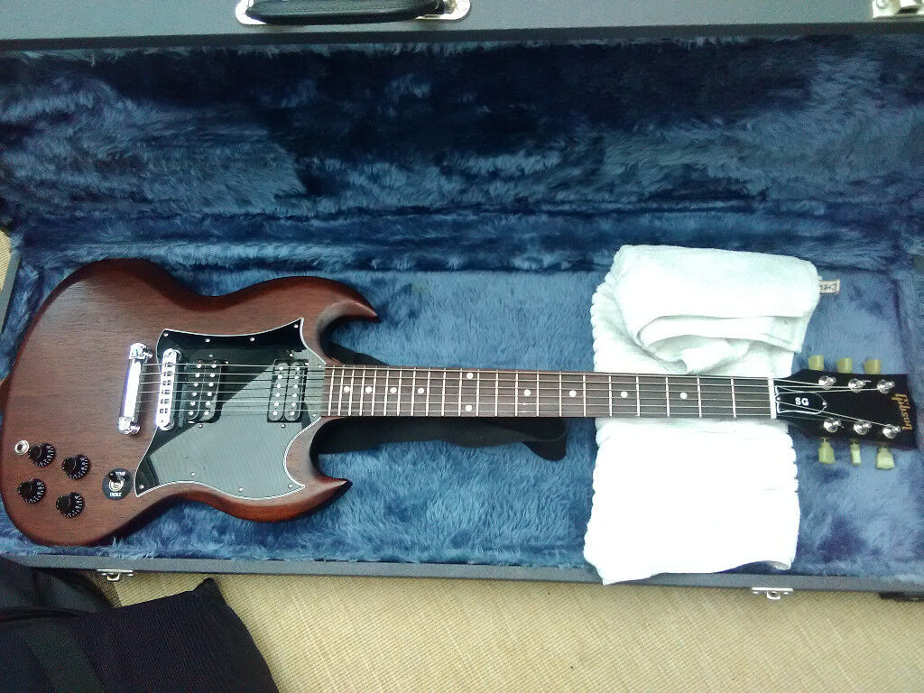 Electric Guitar - Gibson SG Faded Worn Bourbon (2016) in excellent  condition | in Stockton-on-Tees, County Durham | Gumtree