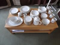 Noritake 6 Place Dinner set and 8 Place Tea set, Pattern 2301 'Sonia'