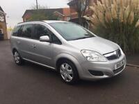2010 Vauxhall Zafira 1.9 CDTi Exclusiv 5dr automatic 12 M warranty & breakdown service
