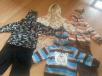 sweater + pants 6-9 month