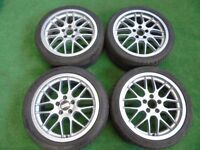 "VAUXHALL, SAAB 17"" BBS ALLOY WHEELS"
