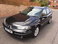 RENAULT LAGUNA EXPRESSION NAV DCI 07 PLATE 98,000 MILES FULL HISTORY