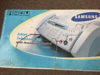 Telehone fax machine