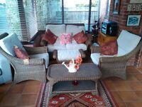 Conservatory cane furniture £150