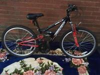 Apollo fs 24 mountain bike excellent condition 18 gears