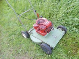Hayter Hayterette Rough Cut Petrol Mower Serviced