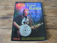 Complete Guide to Learning the Irish Tenor Banjo by Gerry O'Connor with CD + DVD
