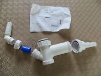 Sink basin waste pipe fitting kit