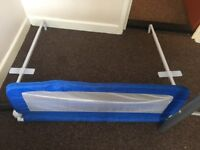 Children's safety bed guard
