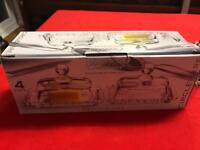4 piece butter dishes- BRAND NEW