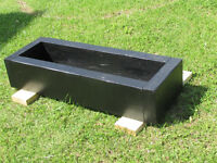 "RAILWAY STYLE PLANTER 46"" LONG 16"" WIDE 9"" HIGH"