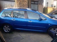 04 Peugeot 307 SW Envy Estate 1.6l Petrol 2 Owners Part-ex Bargain