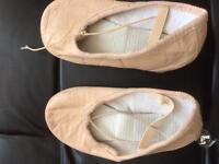 Child's ballet shoes