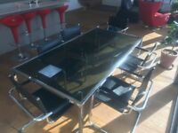 Art Deco dining table and chairs in great condition and vary rare to find!