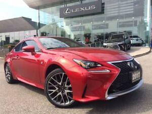 2017 Lexus RC 350 F-Sport Series 2 AWD Navi Back Up Cam Sunroof