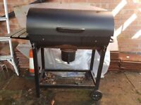 bbq barbecue - black - barley used