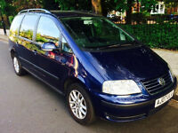 Volkswagen Sharan 1.9 SE TDi 115 Auto 7 Seater With Genuine 79,500 Miles & Full Service History