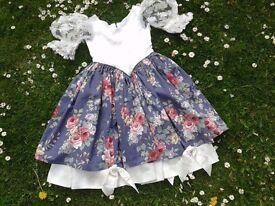 Vintage bridesmaids dress age 4/5/6