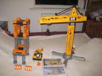 Mega Bloks Super Tower Crane - Construction Toy