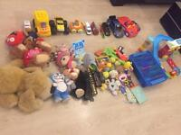 Preloved toys with big toy bag