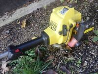 Easy Use McCulloch Petrol Strimmer. Shown Working.