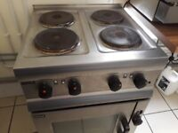 Industrial Cooker and Hob
