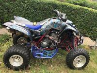 Yamaha 660r road legal quad bike