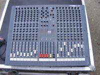 Soundcraft LX7 16-channel mixing desk