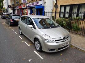 2007 Toyota Corolla Verso VVTI T3 S-Automatic 1.8 Petrol Silver Mileage:73500 £2350 Or Nearest Offer