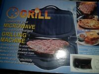 Microwave Grilling Machine