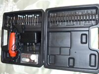 RECHARGEABLE ROTARY TOOL KIT (Brand New & Boxed)