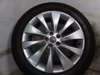 2016 VAUXHALL MOKKA 18 inch alloy wheel with continental tyre approx 7mm
