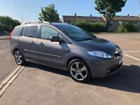 STUNNING MAZDA 5 SPORT(7 SEATS) 2.0 PETROL- ONLY DONE 58K - COMES WITH 6 MONTH WARRANTY+ 1 YEAR MOT