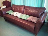 3 Seater Sofa and Easy Chair (Germaine)