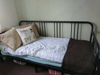 Ikea Double Day-bed, like new (4 months old) - FYRESDAL £60 OBO