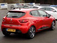 RENAULT CLIO 0.9 TCE DYNAMIQUE S MEDIANAV ENERGY 5dr * Pan Roof (red) 2014